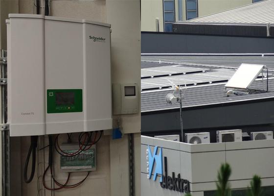 La delegación de Elektra en Arrasate ha puesto en marcha una instalacion solar de autoconsumo de 10kw en su edificio