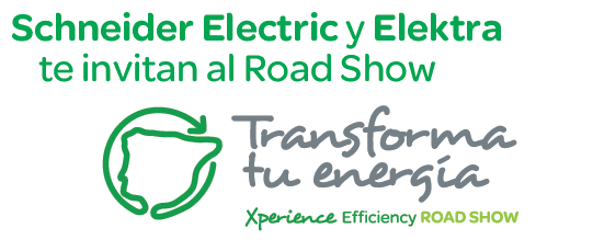 Elektra te invita a participar en el Xperience Efficiency Road Show