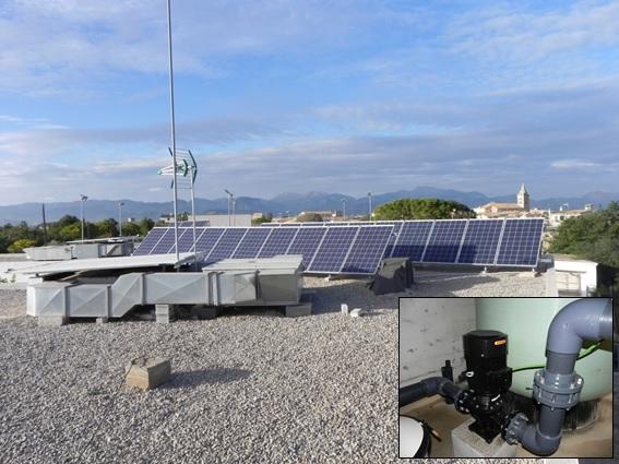 Instalación de bombeo solar