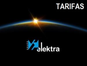Tarifas Grupo Elektra Solar
