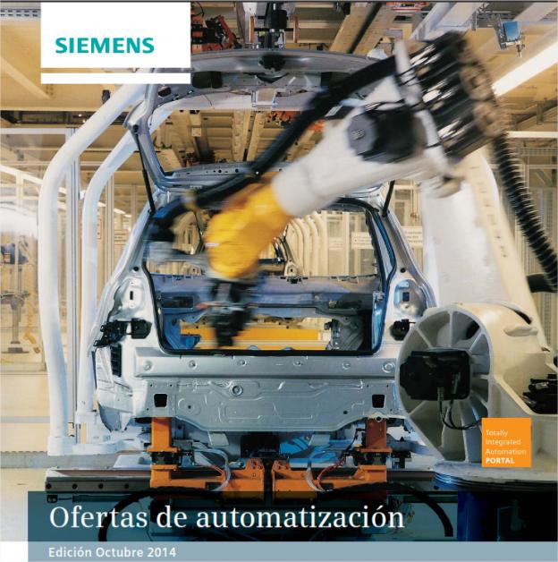 Ofertas Automatización Octubre 2014 de Siemens