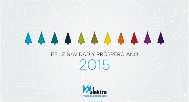¡Feliz navidad y próspero año 2015!