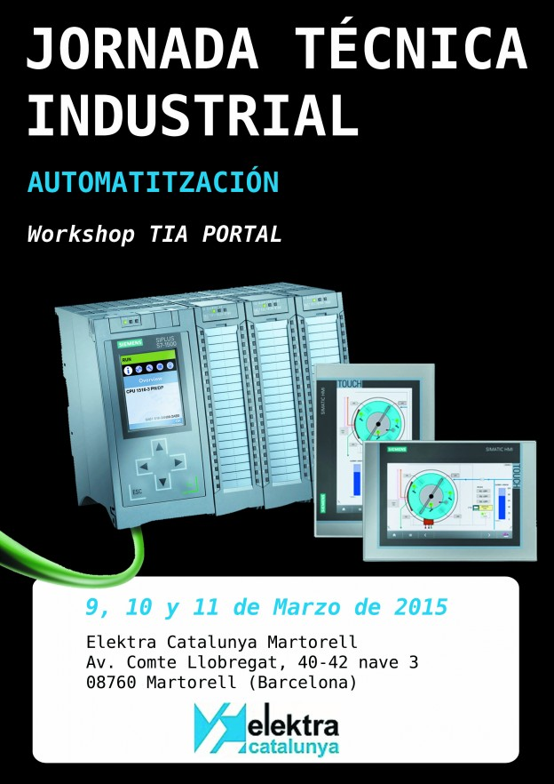 Workshop TIA PORTAL en Elektra Catalunya