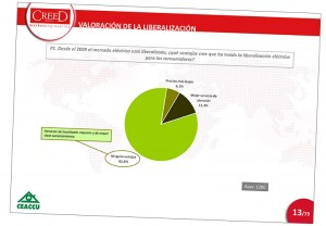 Dura crítica a la liberalización eléctrica: para el 92% sólo ha beneficiado a las grandes compañías eléctricas