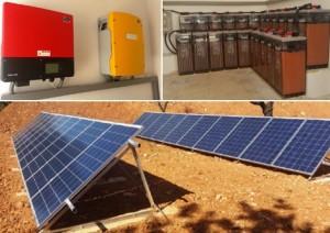 Instalación fotovoltaica aislada para una vivienda sin acceso a red en Palma de Mallorca