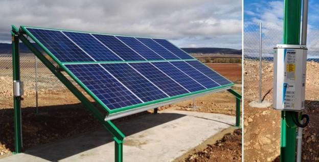 Instalación de bombeo solar en Tajahuerce (Soria)