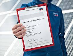 ¿Hasta cuándo está en garantía su planta solar SMA?