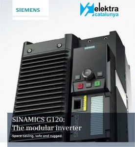 Elektra Catalunya Martorell organiza una Jornada Técnica Industrial en variadores Siemens Sinamics G120