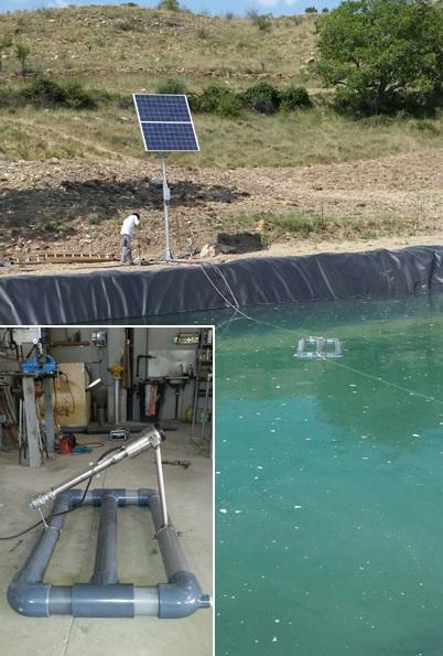 : Bombeo solar para riego en Lleida