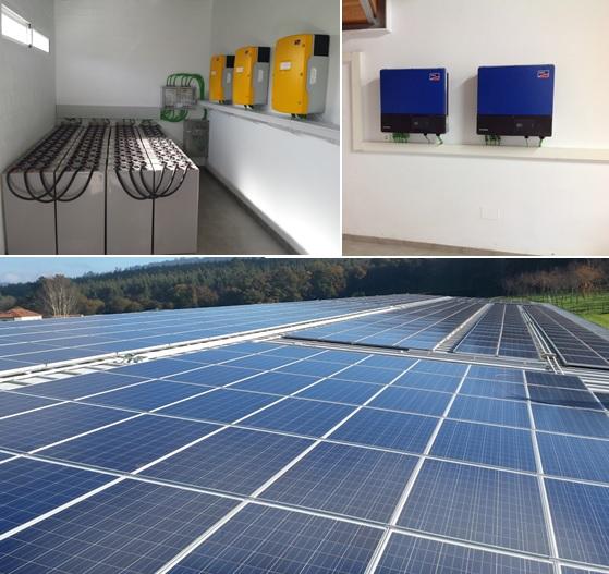 Instalación fotovoltaica en Proxecto Home en Val do Dubra (A Coruña)
