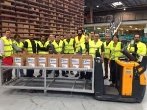 Elektra Catalunya visitó el centro logístico de Schneider Electric