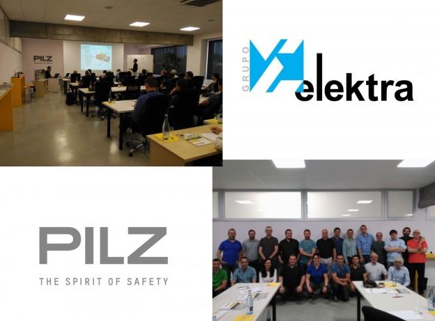 Grupo Elektra recibe una formación sobre productos PILZ