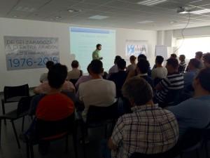 Elektra Aragón celebró una jornada técnica con sus principales empresas proveedoras de seguridad en máquinas