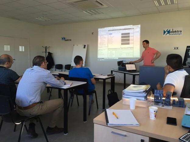 Elektra Catalunya Lleida organizó una jornada técnica en SIMATIC y SINAMICS