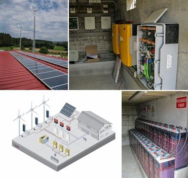 La Eléctrica participa en el proyecto de una instalación fotovoltaica y eólica para una granja de ganado