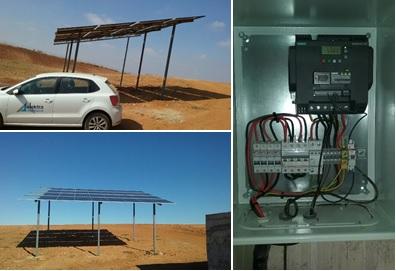 Elektra Andalucía suministra el material para una instalación de bombeo solar