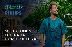 soluciones led para horticultura