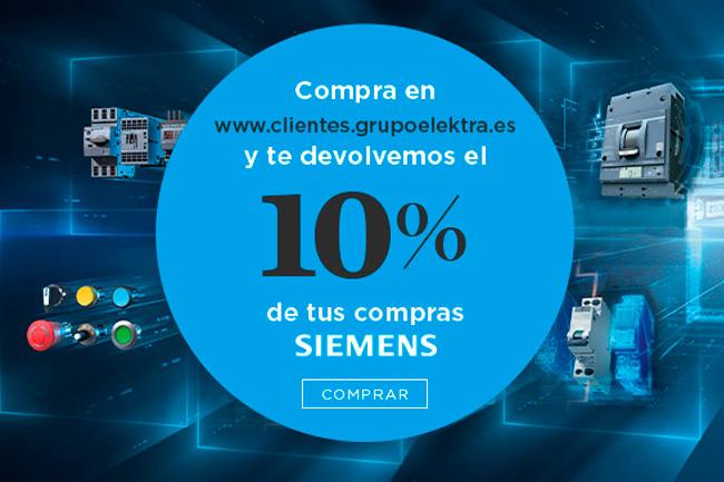 Grupo Elektra, Campaña Siemens. Te devolvemos 10%