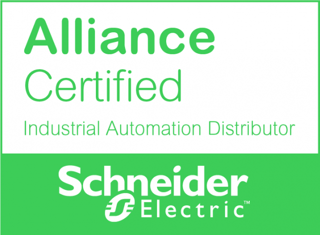 SE_Partnership Badge_Alliance_Certified_Industrial Automation Distributor_RGB_Green_f