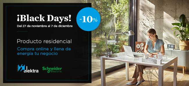 promoción hogar Black Friday Schneider