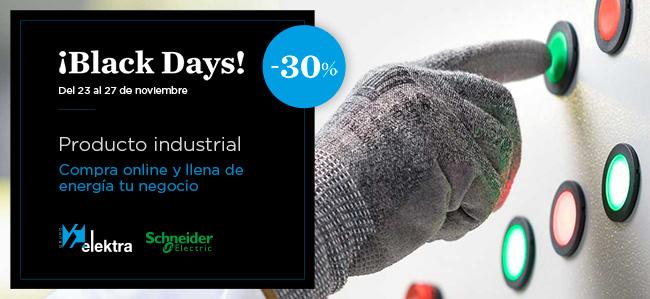 promoción industrial Black Friday Schneider