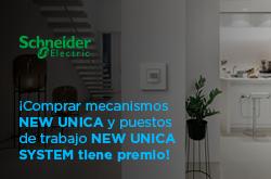 promoción schneider New Unica y New Unica System
