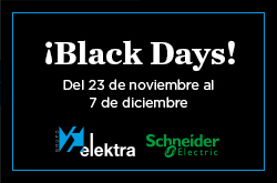 promoción Black Friday Schneider