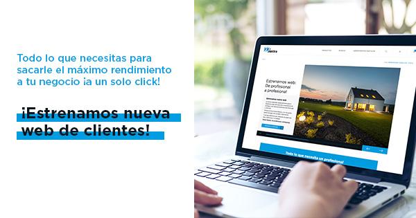 nueva web de clientes