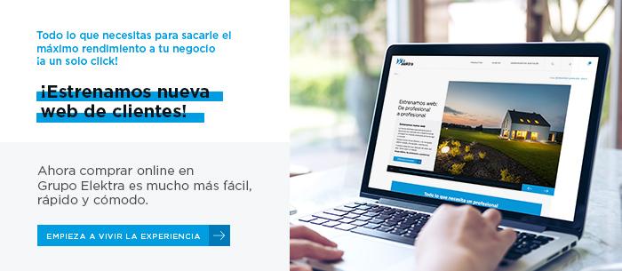 lanzamiento nueva web de clientes