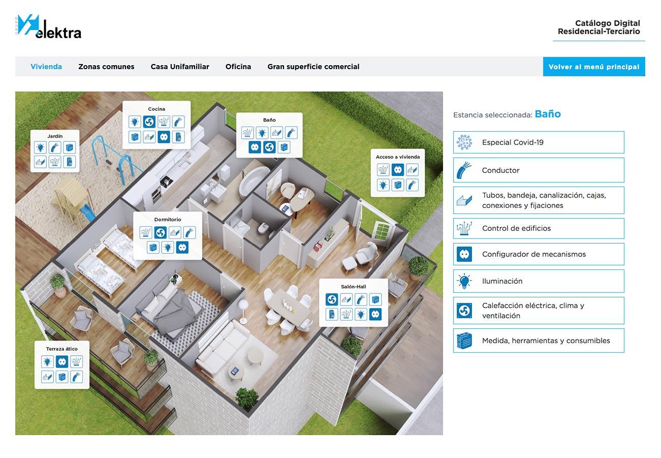 catálogo digital residencial terciario herramienta digital