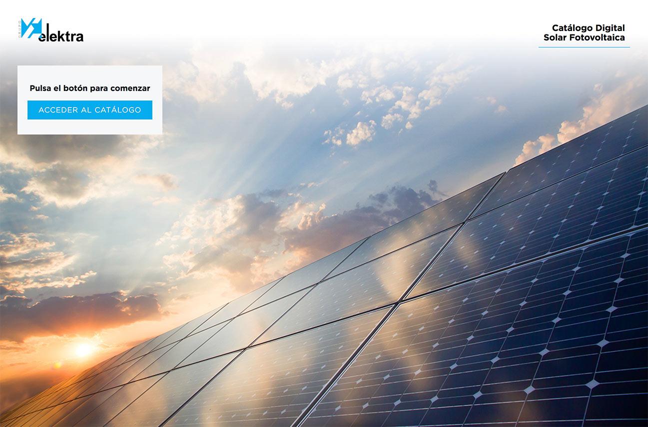 catálogo digital Solar fotovoltaica portada