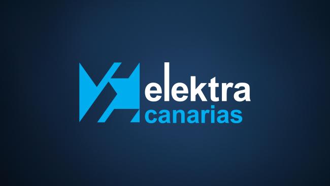 Logotipo elektra canarias