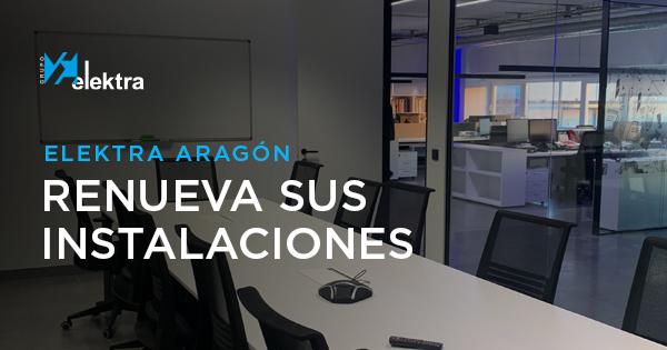 Grupo Elektra, reforma oficinas Elektra Aragón