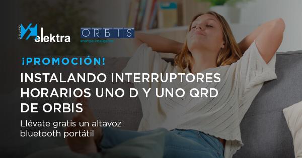 Grupo Elektra, promociones Interruptores Orbis