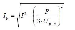 Medición armónicos: fórmula