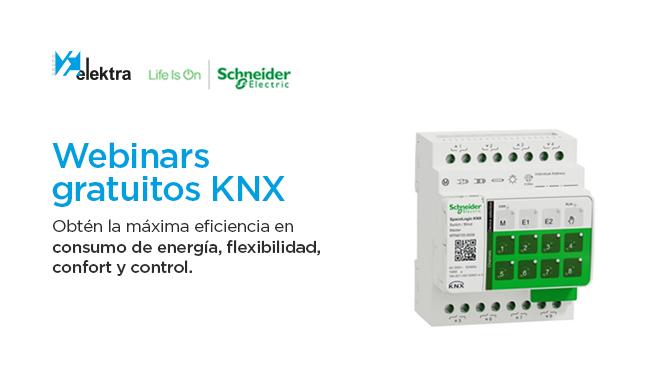 Webinars gratuitos KNX.