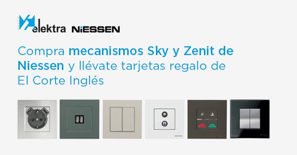 Grupo Elektra, Campaña Niessen, Mecanismos Sky y Zenit