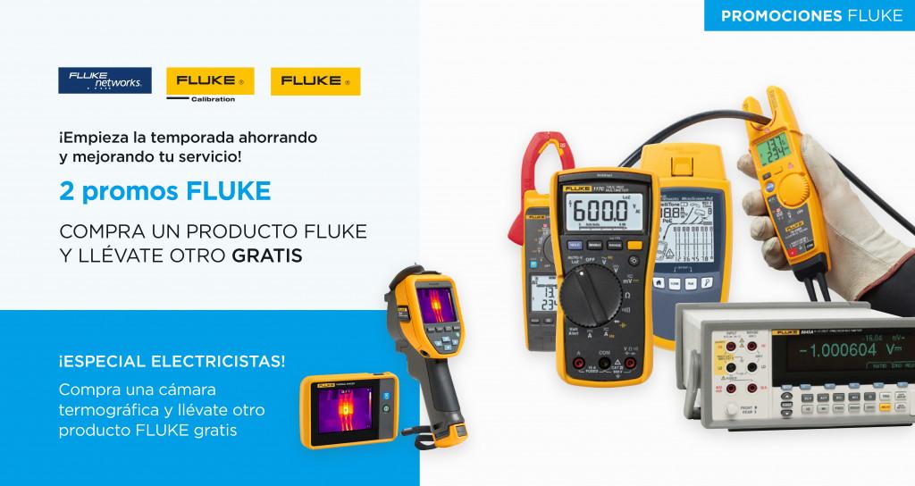 Promo Fluke. Compra un producto Fluke y llévate otro GRATIS