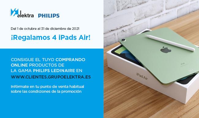PROMO PHILIPS LEDINAIRE & IPADS AIR