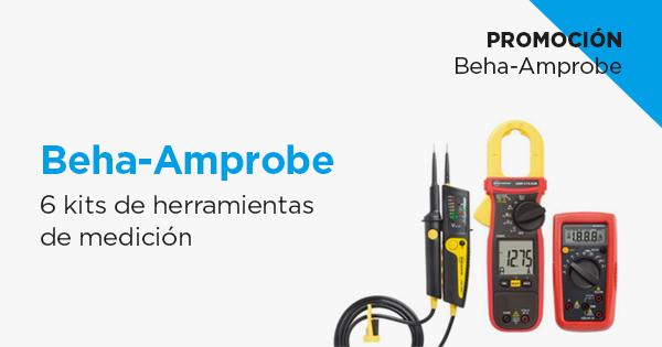 Promo Beha-Amprobe. 6 kits de herramientas de medición