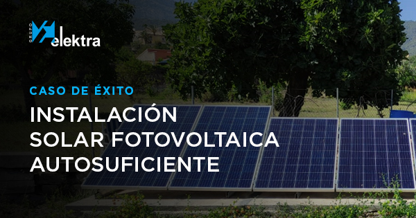 caso de éxito instalación solar fotovoltaica autosuficiente en Selva