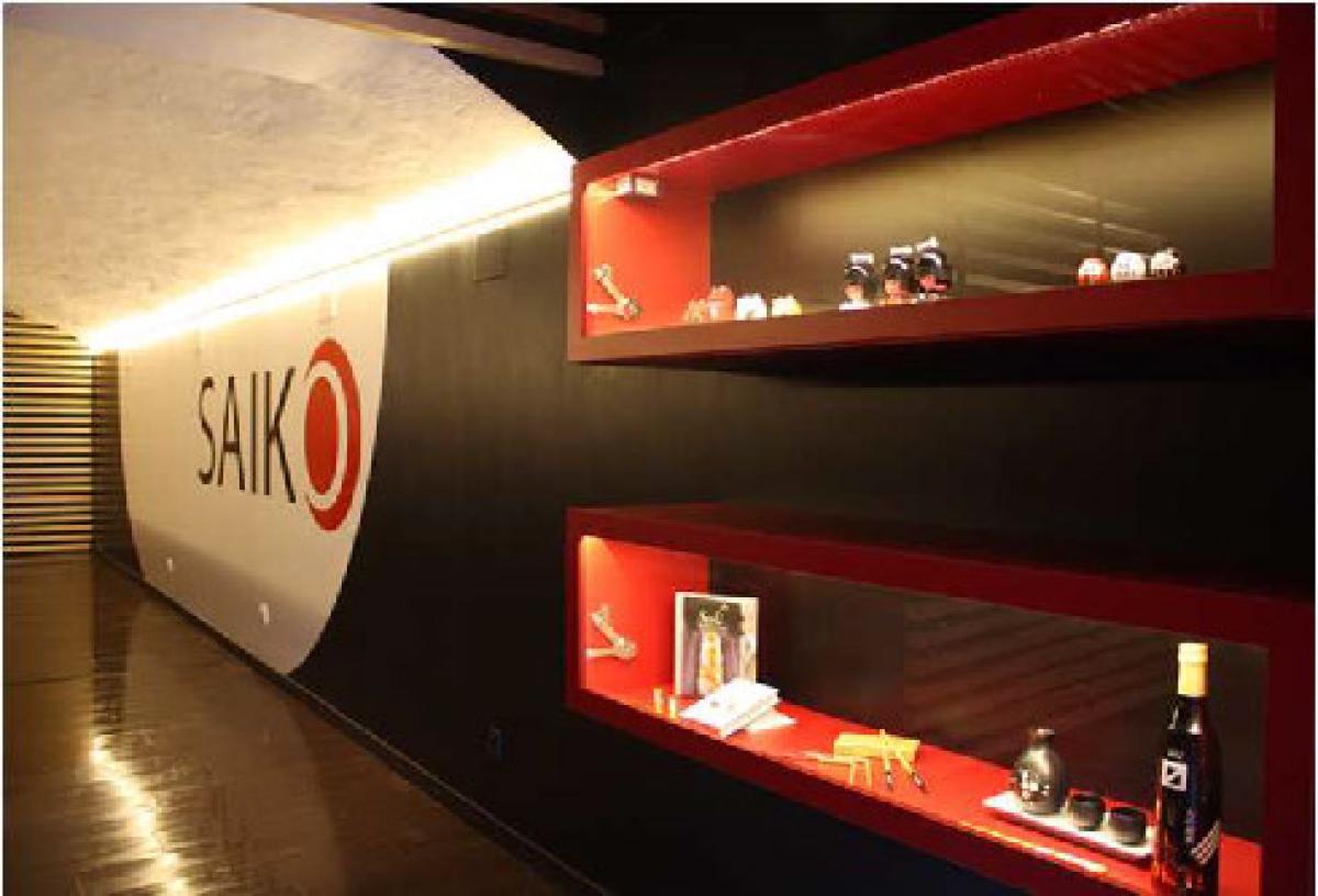Interior Lighting At The Saiko Japanese Restaurant Elektra Group