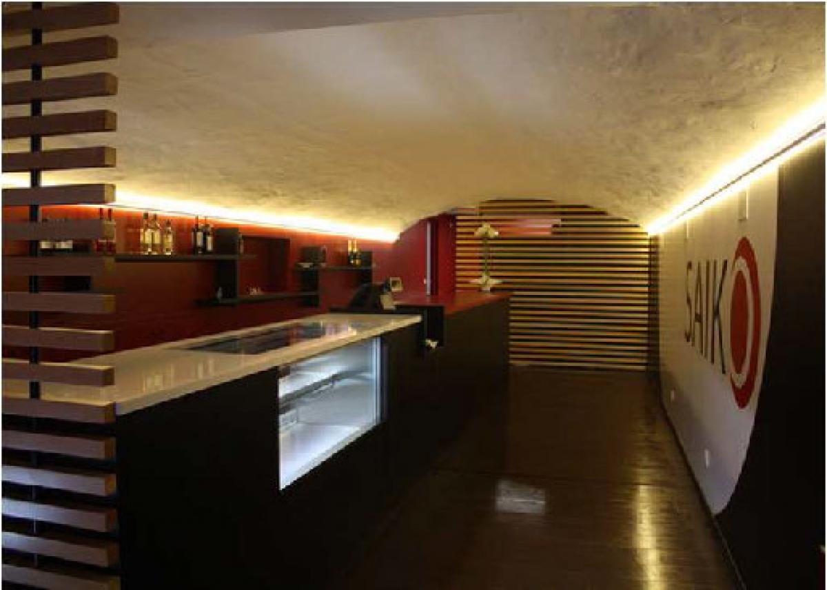 Iluminaci n interior del restaurante japon s saiko grupo - Proyectos de iluminacion interior ...