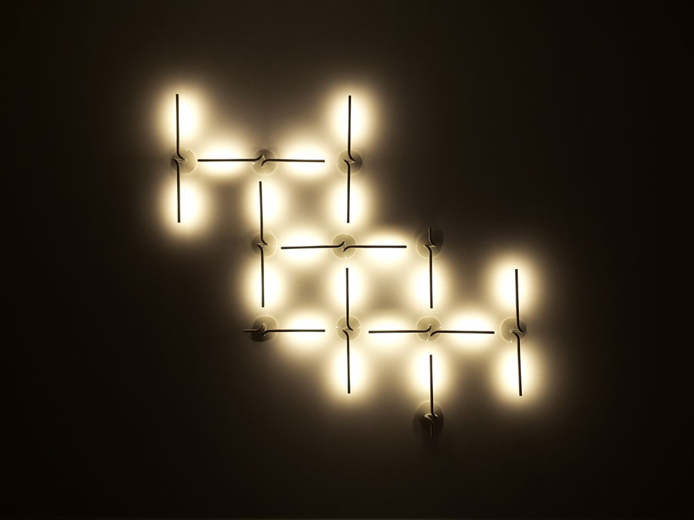 wall lighting effects. Display Of Wall Lights, Playing With Light And Shadow, Demonstrating That Decoration Is Not Only A Question The Product Design But Effects Can Lighting E